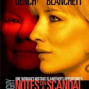 Notes On A Scandal is listed (or ranked) 11 on the list Great Movies About Old Ladies