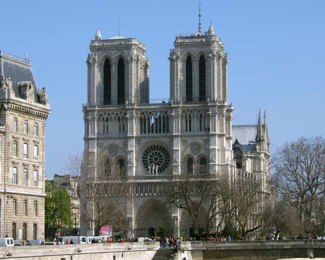 french gothic architecture buildings list of famous french gothic