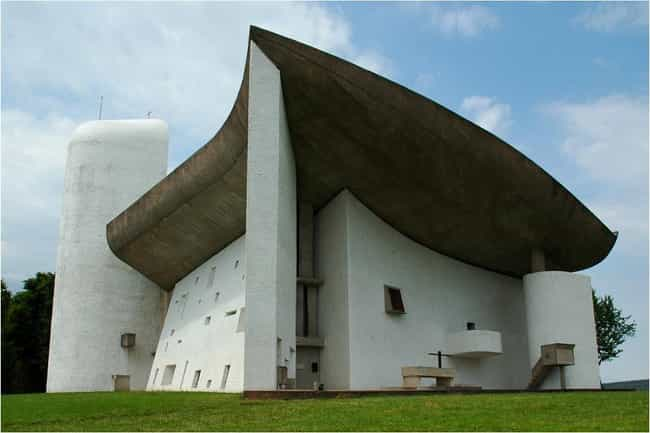 Notre Dame du Haut is listed (or ranked) 4 on the list List of Le Corbusier Architecture