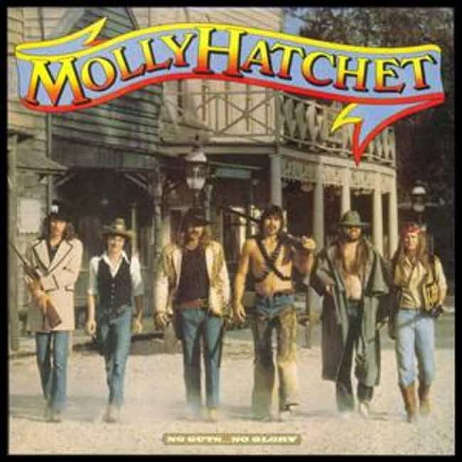 No Guts... No Glory is listed (or ranked) 4 on the list The Best Molly Hatchet Albums of All Time