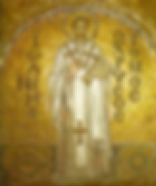 Saint John Chrysostom is listed (or ranked) 5 on the list List of Famous Bishops