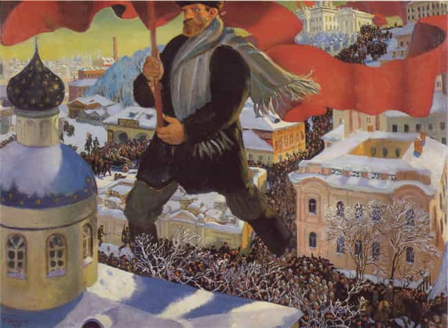 October Revolution is listed (or ranked) 4 on the list List Of Russian Revolution of 1917 Battles