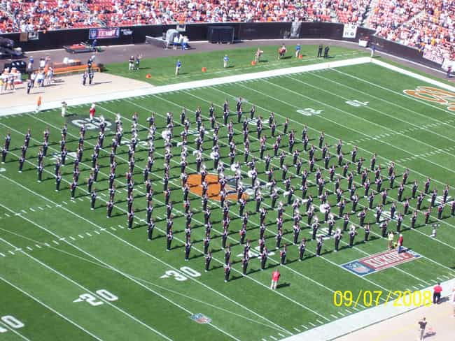 Ohio State University Marching... is listed (or ranked) 2 on the list The Best Marching Bands