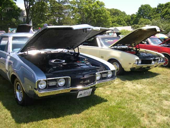 Oldsmobile 442 Is Listed Or Ranked 2 On The List Full Of