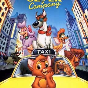 Oliver & Company is listed (or ranked) 19 on the list The Best Disney Movies Based on Books