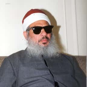 Omar Abdel-Rahman is listed (or ranked) 15 on the list Famous People From Egypt