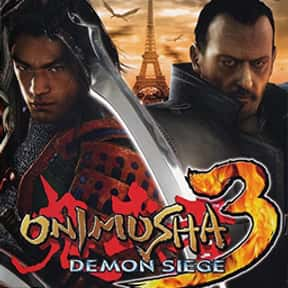 Onimusha 3: Demon Siege is listed (or ranked) 13 on the list The Best Samurai Games, Ranked