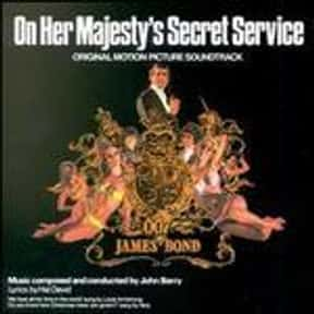 On Her Majesty's Secret Servic is listed (or ranked) 16 on the list The Best Spy Movies Based on Books