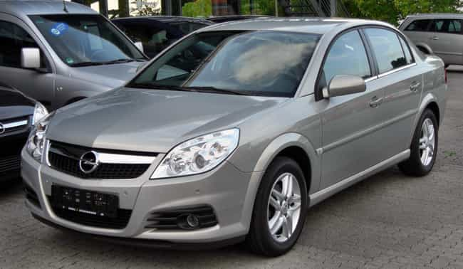 Opel Vectra is listed (or ranked) 3 on the list Full List of Vauxhall Motors Models