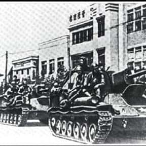 Soviet invasion of Manchuria is listed (or ranked) 16 on the list World War II Battles Involving the Axis Powers