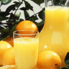 Orange juice is listed (or ranked) 15 on the list The Best Breakfast Foods