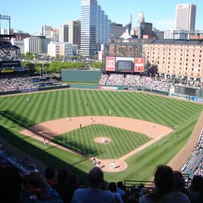 Oriole Park at Camden Yards is listed (or ranked) 5 on the list The Best MLB Ballparks