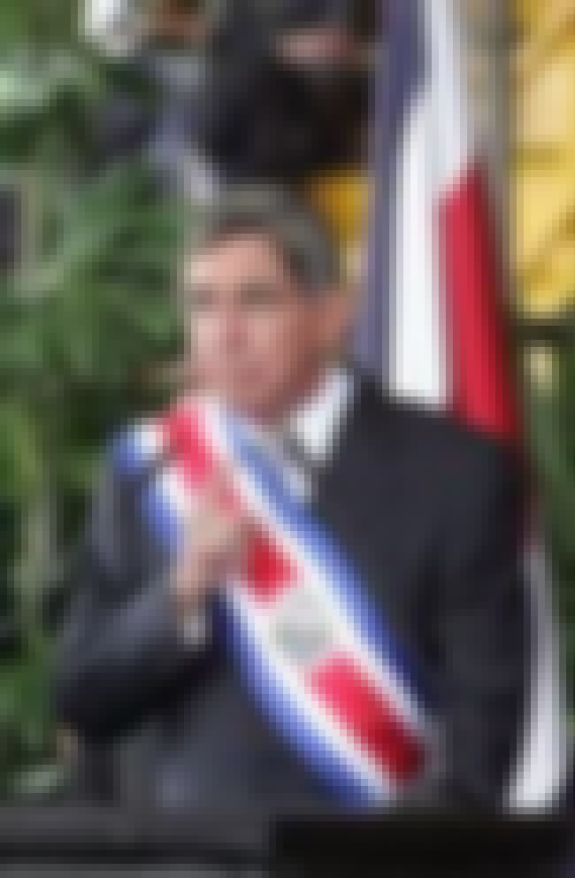 Óscar Arias is listed (or ranked) 3 on the list Famous University Of Costa Rica Alumni