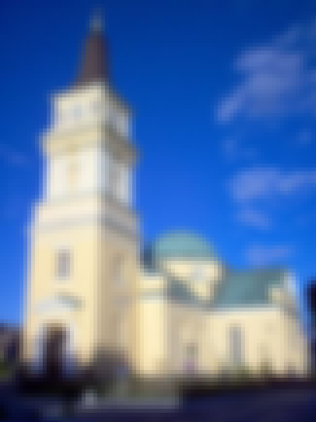 Oulu Cathedral is listed (or ranked) 5 on the list List of Carl Ludvig Engel Architecture