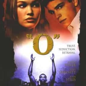 O is listed (or ranked) 16 on the list The Best Shakespeare Film Adaptations