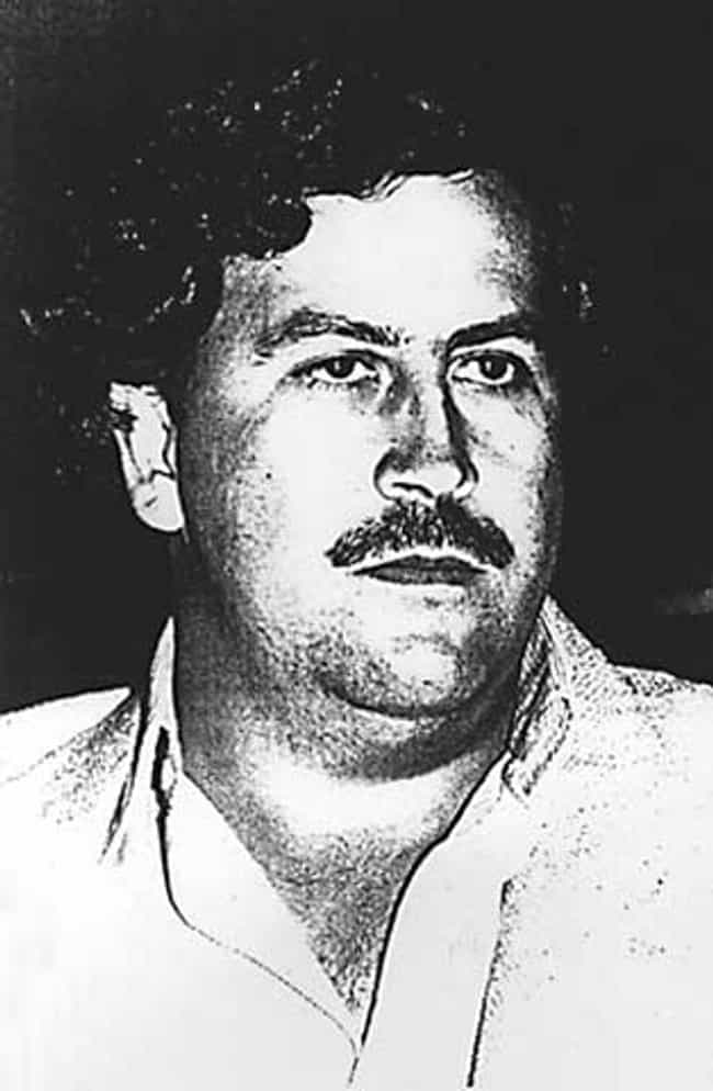 Pablo Escobar is listed (or ranked) 1 on the list Famous Male Drug Lords