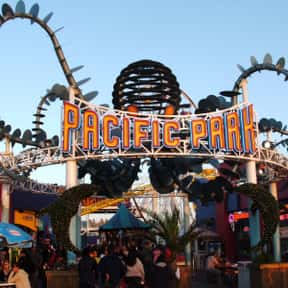 Pacific Park is listed (or ranked) 6 on the list Amusement Parks in California