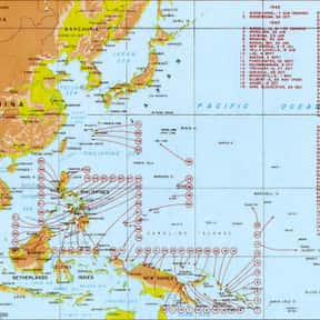 Pacific War is listed (or ranked) 21 on the list World War II Battles Involving the Axis Powers