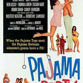 Pajama Party is listed (or ranked) 7 on the list The Best Teen Movies of the 1960s