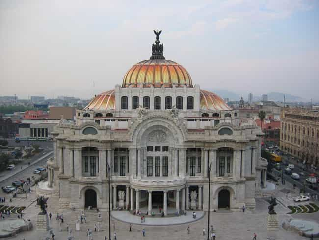 Famous mexico city buildings list of architecture in mexico city palacio de bellas artes mexico city sciox Gallery