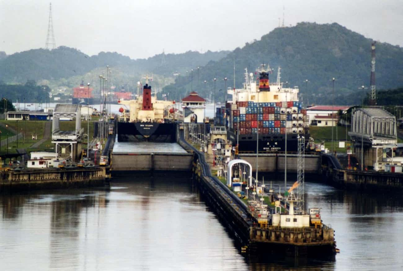 Panama Canal is listed (or ranked) 1 on the list The Most Amazing Things the Army Corps of Engineers Has Done