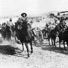 Pancho Villa is listed (or ranked) 11 on the list List of Famous Revolutionaries
