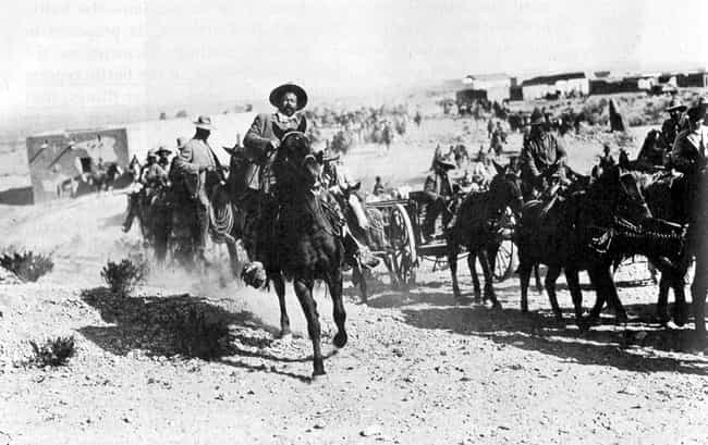 Pancho Villa is listed (or ranked) 2 on the list Famous Male Saints