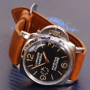 Panerai is listed (or ranked) 18 on the list The Best Watch Brands