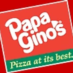 Papa Gino's is listed (or ranked) 24 on the list The Greatest Pizza Delivery Chains In The World