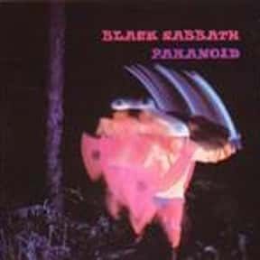 Paranoid is listed (or ranked) 16 on the list The Greatest Guitar Rock Albums of All Time