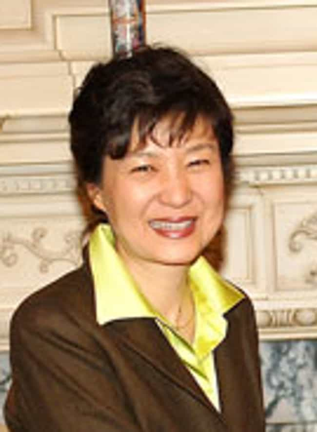 Park Geun-hye is listed (or ranked) 10 on the list Female Presidents Currently in Office