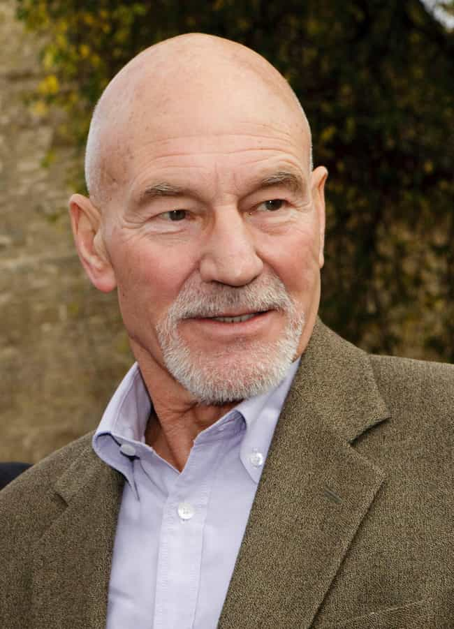 Patrick Stewart is listed (or ranked) 1 on the list Celebrities Who Smoke Weed