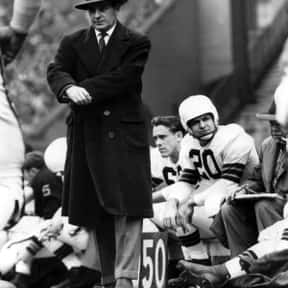 Paul Brown is listed (or ranked) 1 on the list The Best Cincinnati Bengals Coaches of All Time