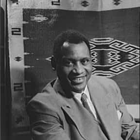 Paul Robeson is listed (or ranked) 16 on the list Full Cast of King Solomon's Mines Actors/Actresses