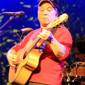 Paul Simon is listed (or ranked) 3 on the list The Greatest Living Rock Songwriters