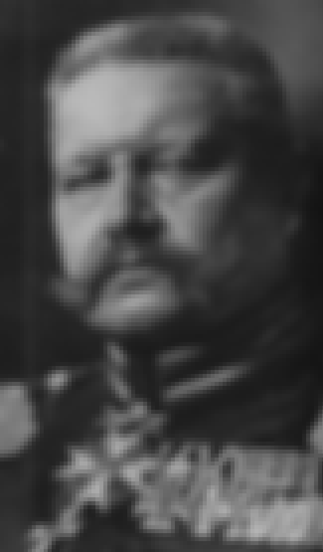 Paul von Hindenburg is listed (or ranked) 6 on the list List of Famous Generals