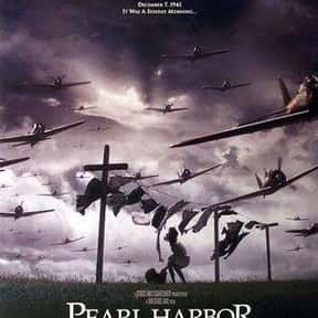 Pearl Harbor is listed (or ranked) 10 on the list Great Movies So Patriotic, They Are Basically American Propaganda