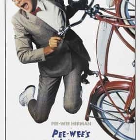 Pee-wee's Big Adventure is listed (or ranked) 21 on the list Entertainment Weekly's Top 50 Cult Movies