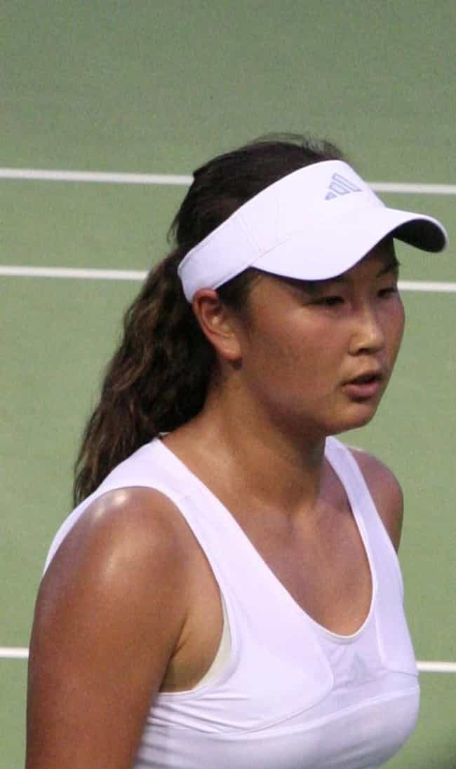 Peng Shuai is listed (or ranked) 3 on the list The Best Tennis Players from China