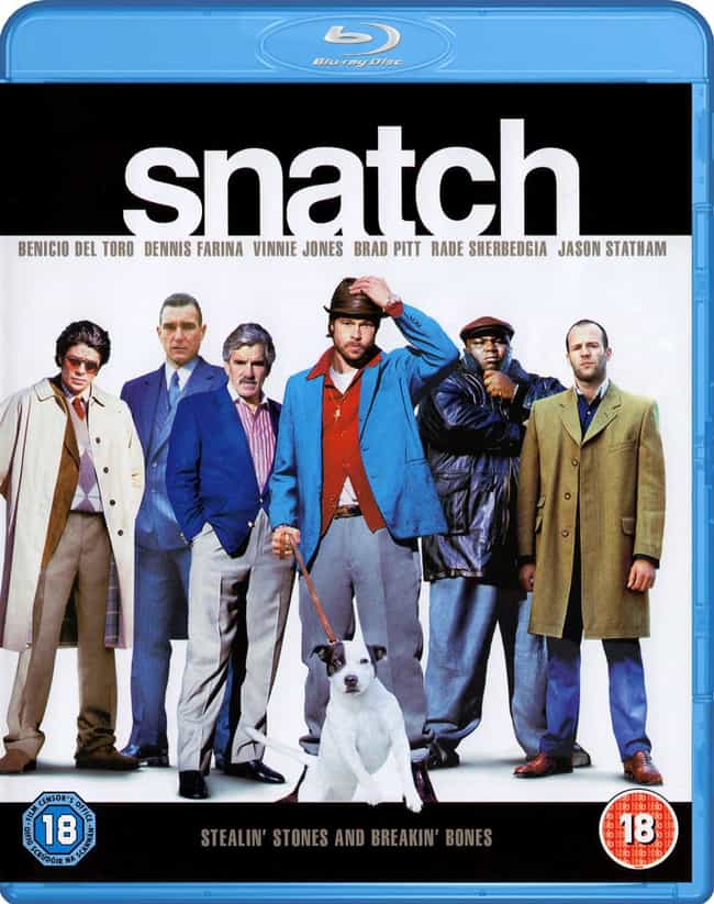Snatch is listed (or ranked) 4 on the list What to Watch If You Love Pulp Fiction