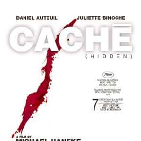 Caché is listed (or ranked) 7 on the list The Best Horror Movies Set in Paris