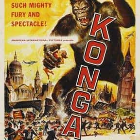 Konga is listed (or ranked) 13 on the list The Best Horror Movies About Killer Plants