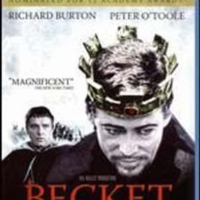 Becket is listed (or ranked) 21 on the list Roger's Top 250+ Classic Epic Movies