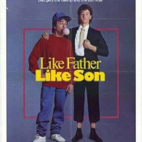 Like Father Like Son is listed (or ranked) 14 on the list 20+ Great Movies Where Characters Swap Ages or Bodies