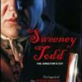 Sweeney Todd is listed (or ranked) 15 on the list The Best Period Horror Movies, Ranked