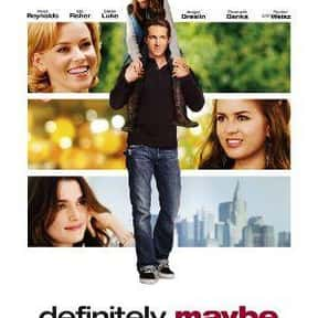 Definitely, Maybe is listed (or ranked) 18 on the list The Best Movies of 2008