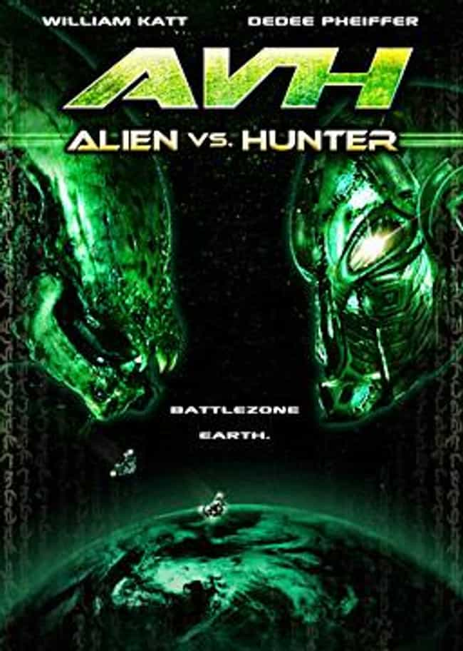 AVH: Alien vs. Hunter is listed (or ranked) 3 on the list The Most Blatant Hollywood Rip-Offs Produced By The Asylum