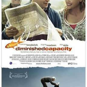 Diminished Capacity is listed (or ranked) 22 on the list The Best Matthew Broderick Movies