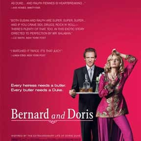 Bernard and Doris is listed (or ranked) 14 on the list The Best Ralph Fiennes Movies
