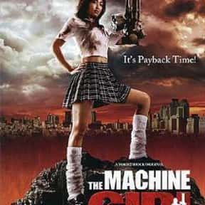 The Machine Girl is listed (or ranked) 18 on the list The Best Horror Movies About Chainsaw Maniacs